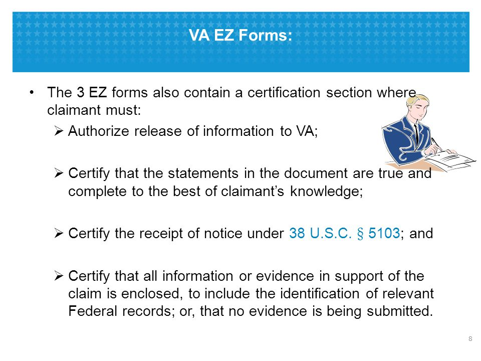 VA's Duty to Notify FDC Program vs. Standard Claim Process