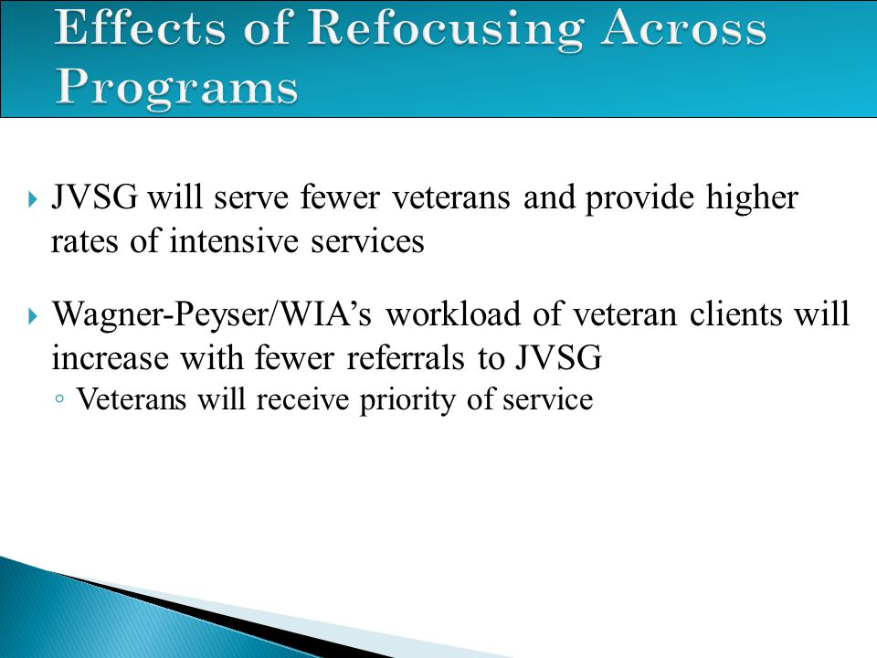 Effects of Refocusing Across Programs