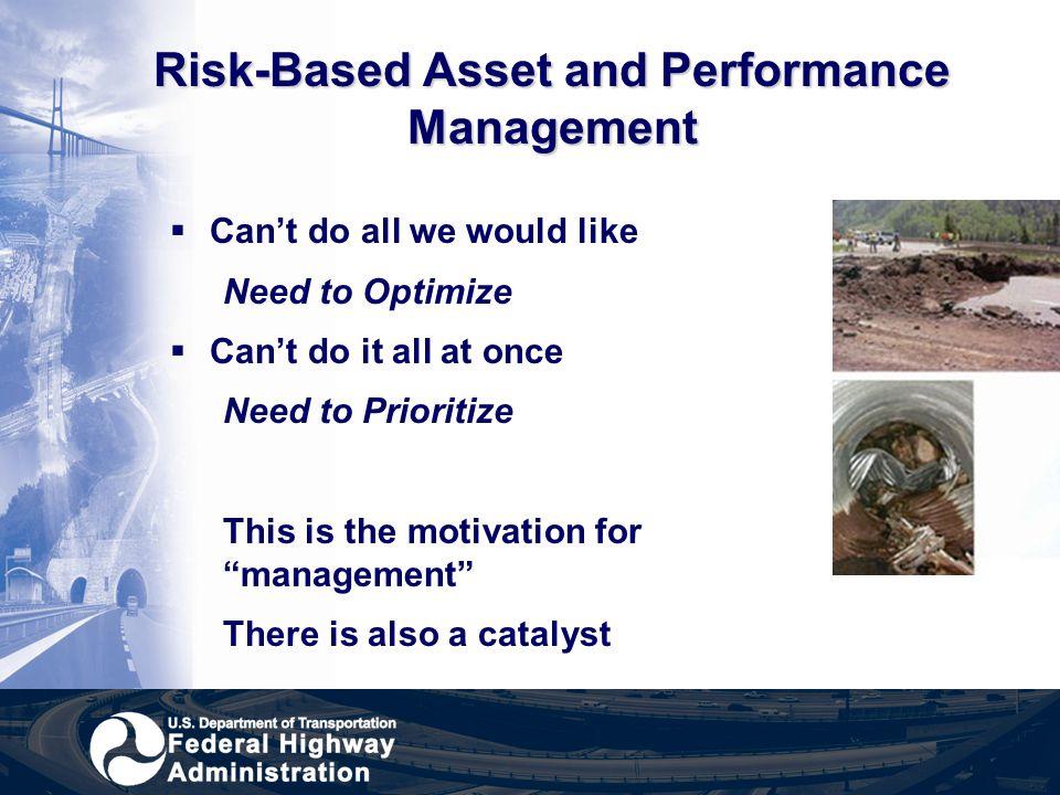Risk-Based Asset and Performance Management