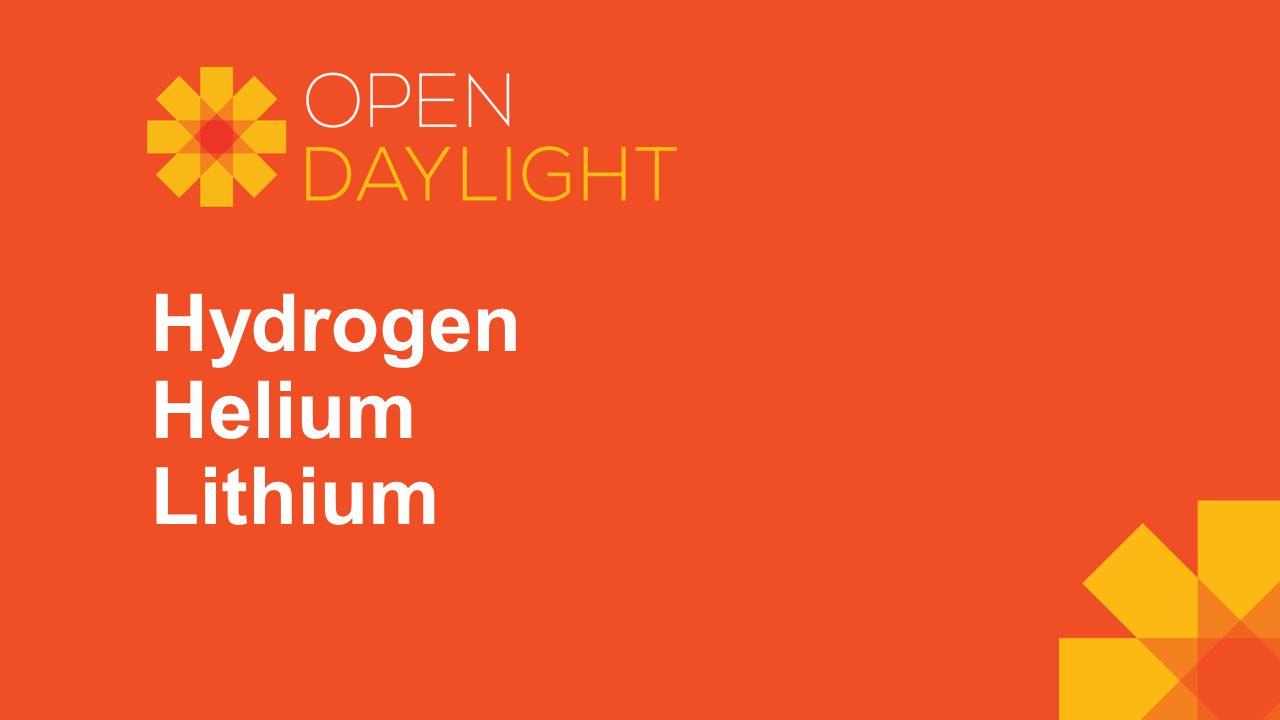 Hydrogen Helium Lithium