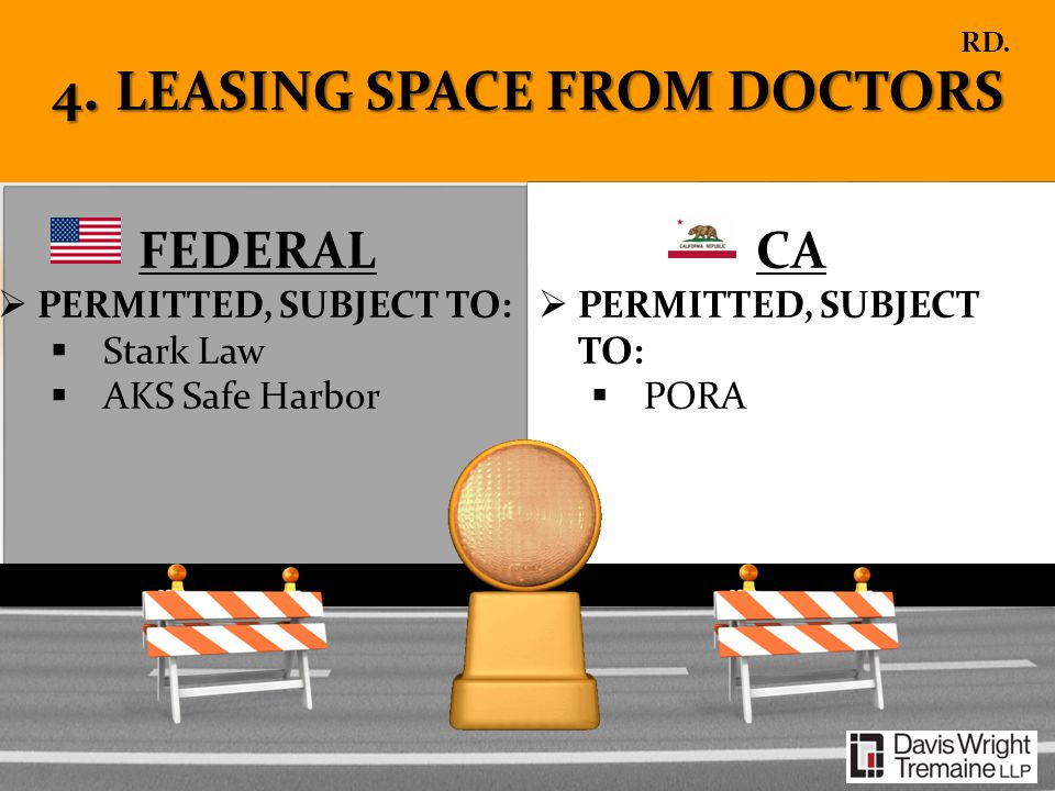 4. LEASING SPACE FROM DOCTORS