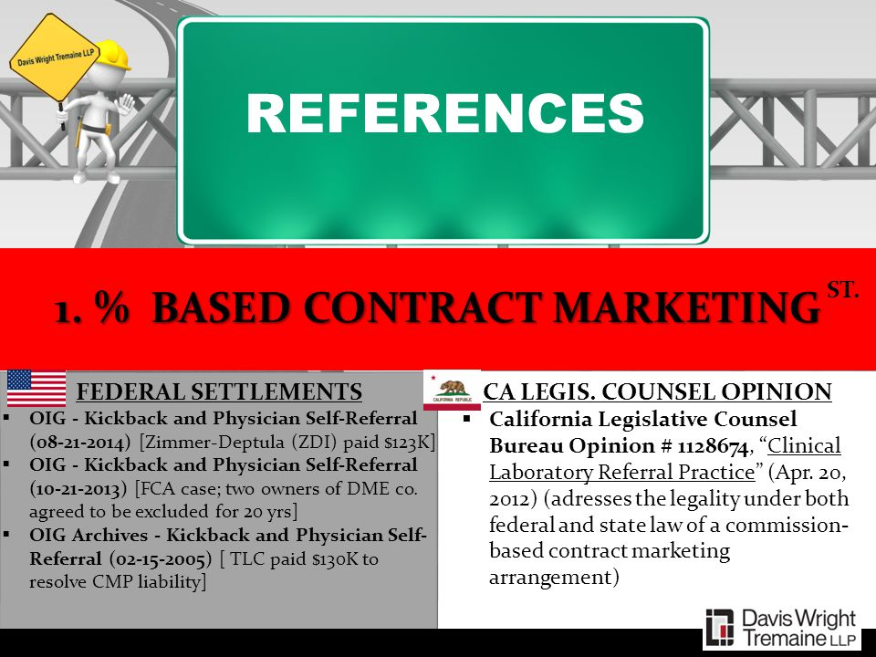 1. % BASED CONTRACT MARKETING