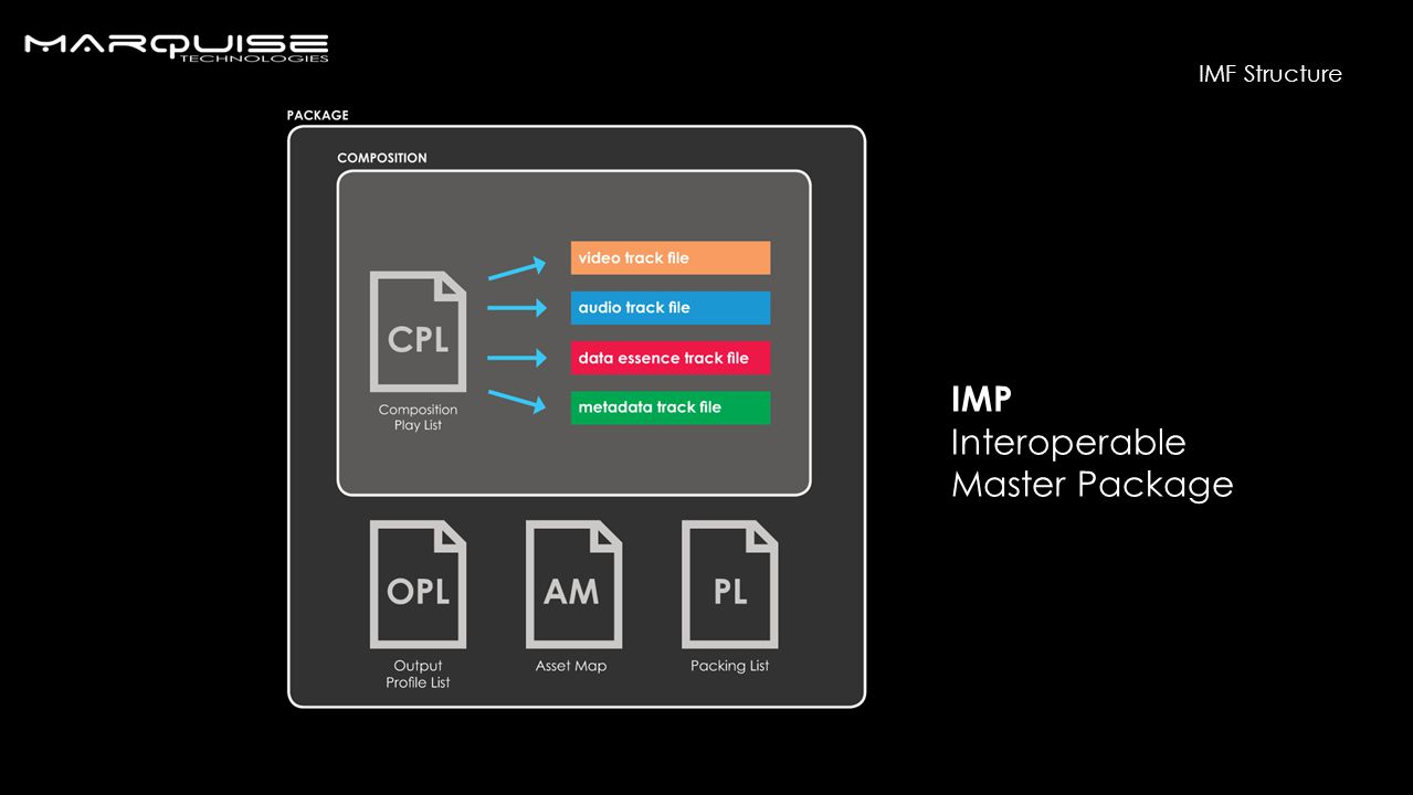 IMP Interoperable Master Package