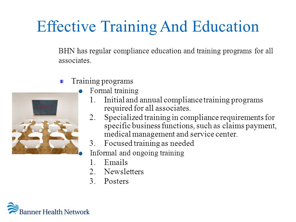 Effective Training And Education