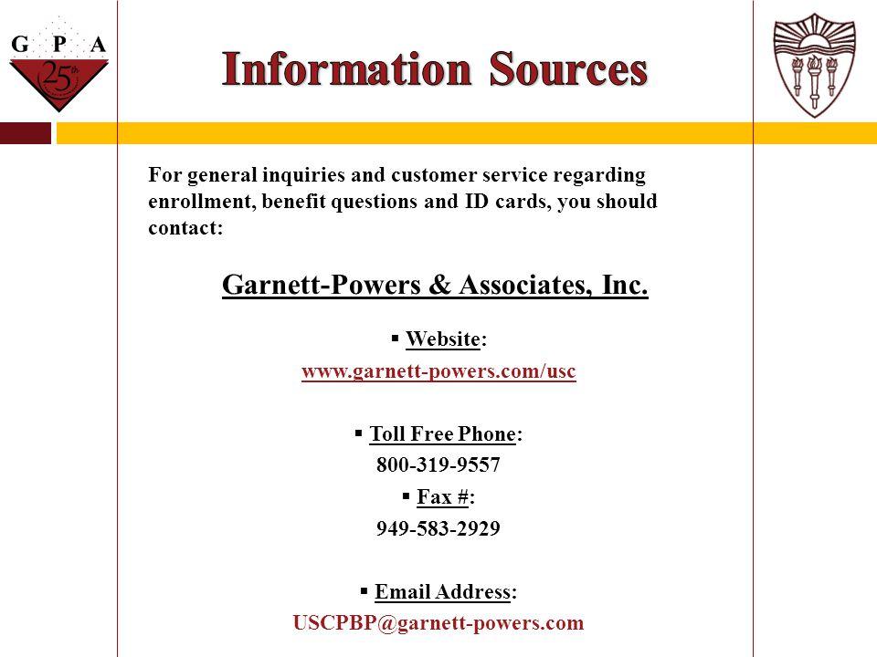 Garnett-Powers & Associates, Inc.