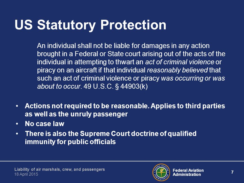 US Statutory Protection
