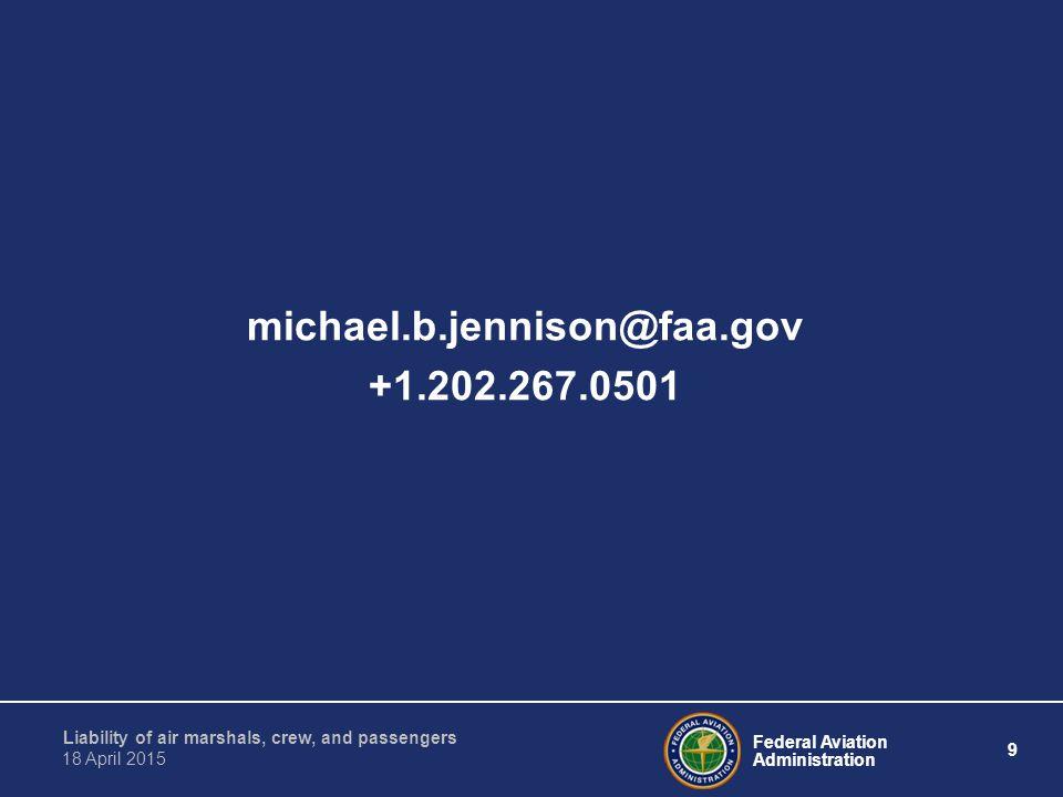 michael.b.jennison@faa.gov +1.202.267.0501