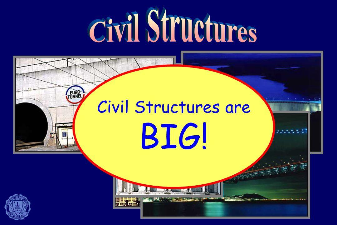 Civil Structures are BIG!