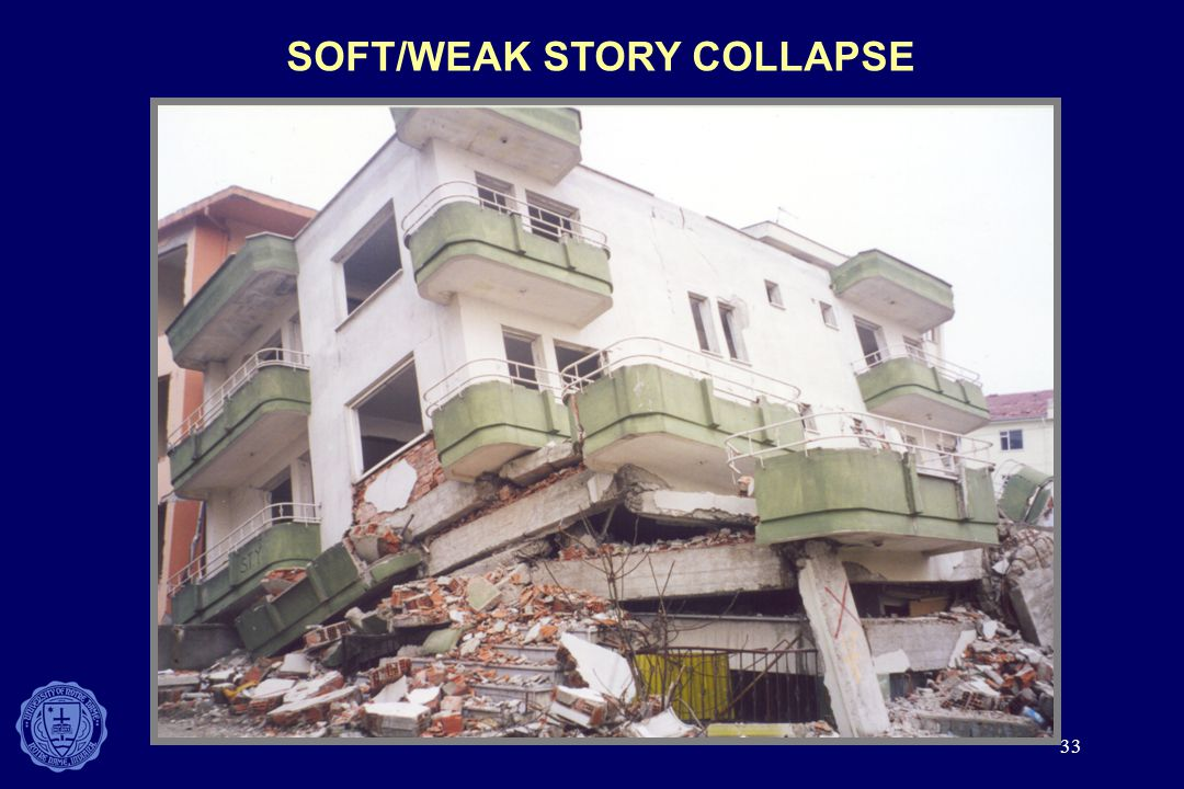 SOFT/WEAK STORY COLLAPSE