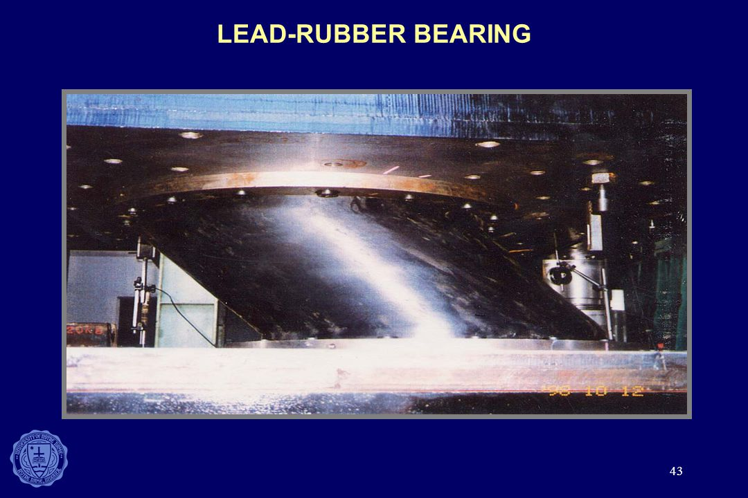 LEAD-RUBBER BEARING