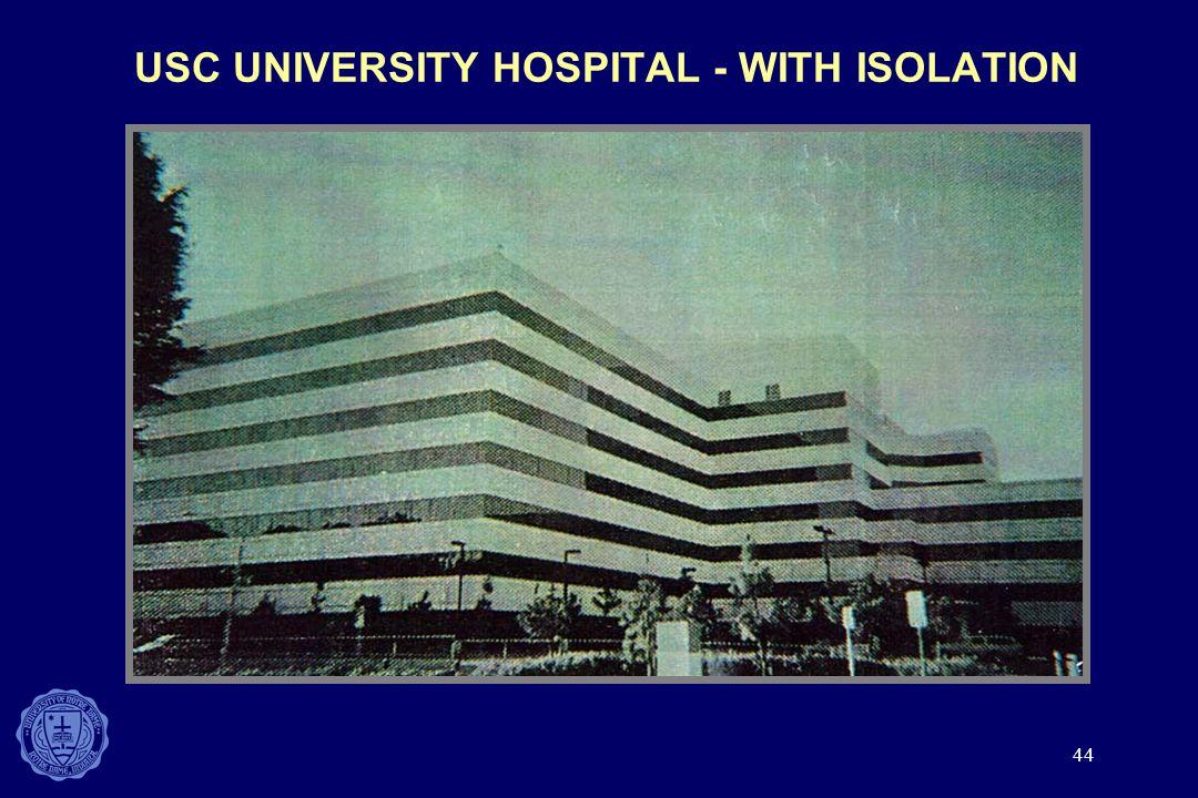 USC UNIVERSITY HOSPITAL - WITH ISOLATION