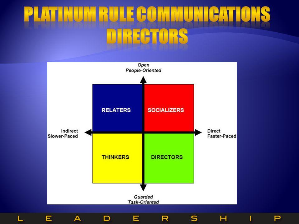 Platinum Rule Communications Directors