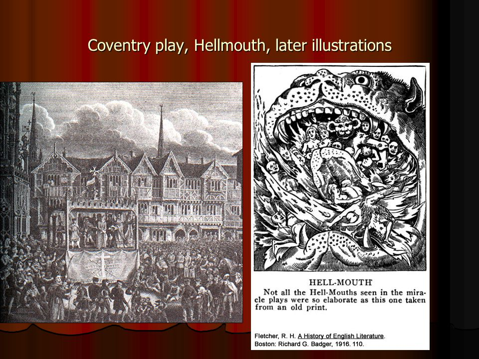 Coventry play, Hellmouth, later illustrations