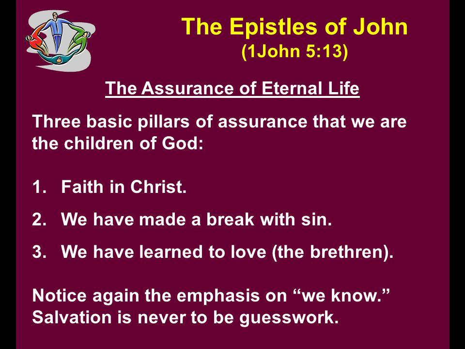 The Assurance of Eternal Life