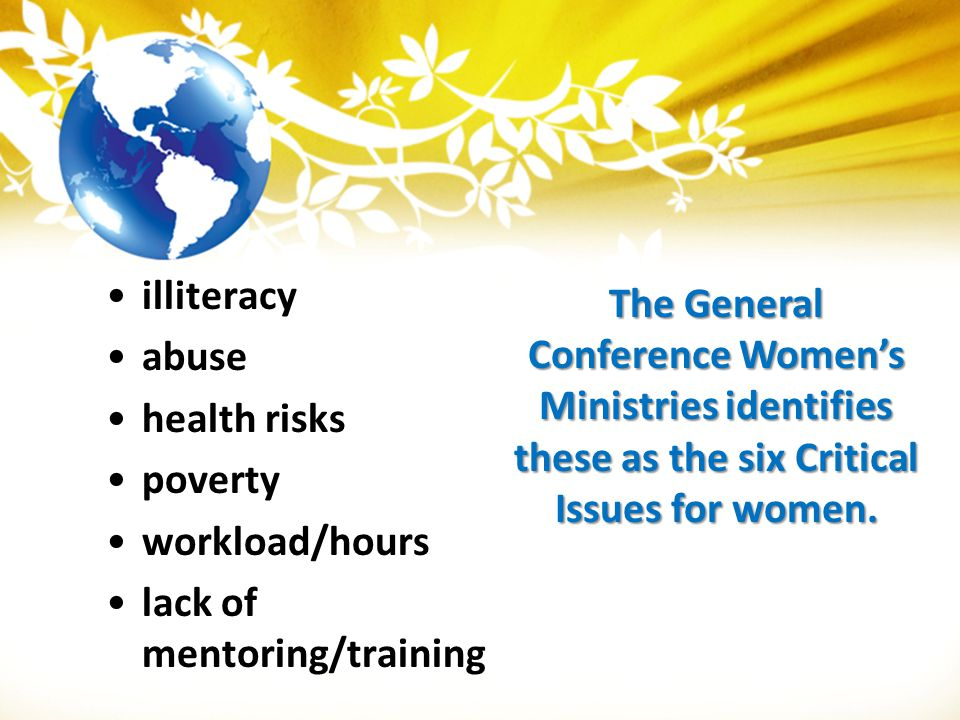 illiteracy abuse. health risks. poverty. workload/hours. lack of mentoring/training.