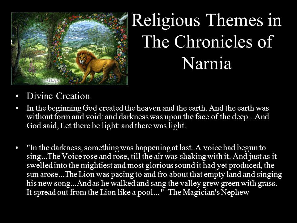 Religious Themes in The Chronicles of Narnia