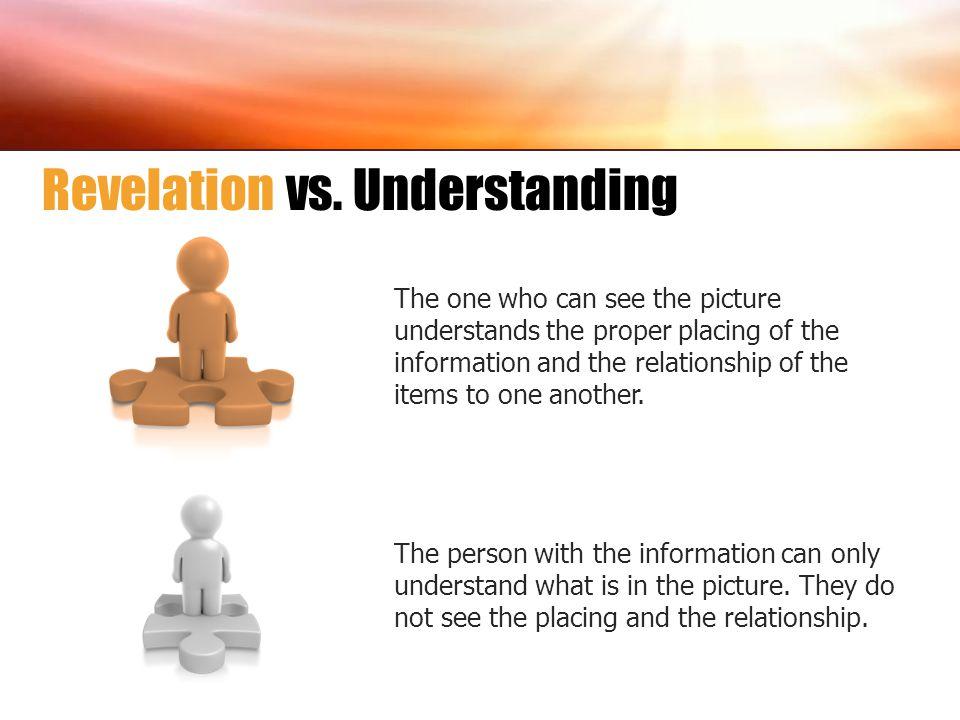 Revelation vs. Understanding