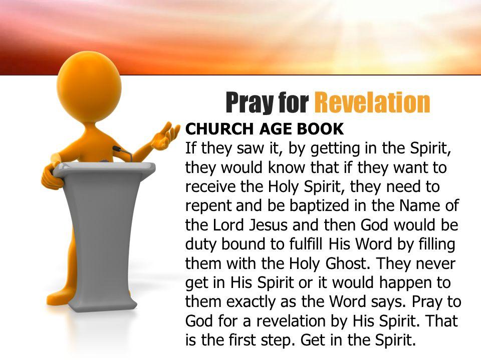 Pray for Revelation