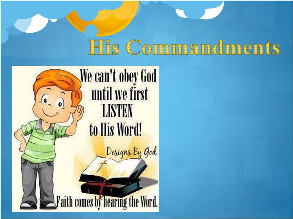 His Commandments