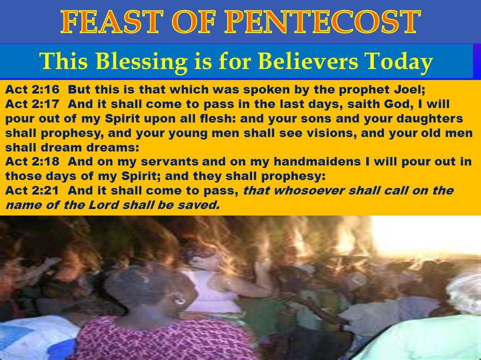 This Blessing is for Believers Today