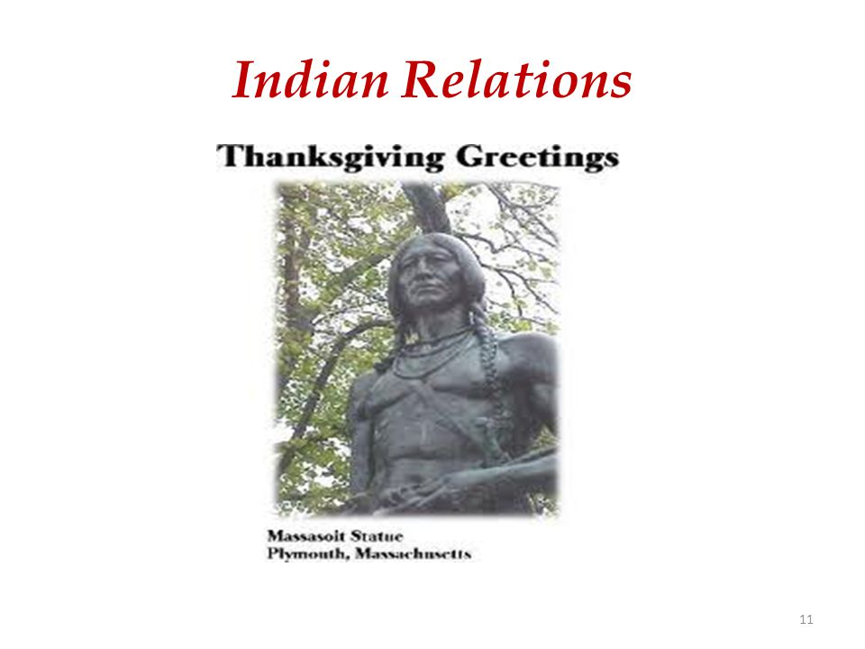 Indian Relations