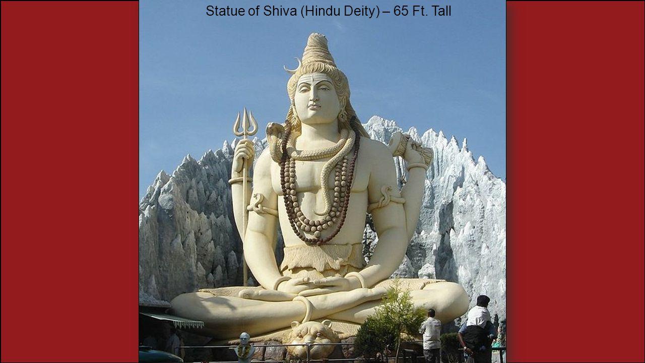 Statue of Shiva (Hindu Deity) – 65 Ft. Tall