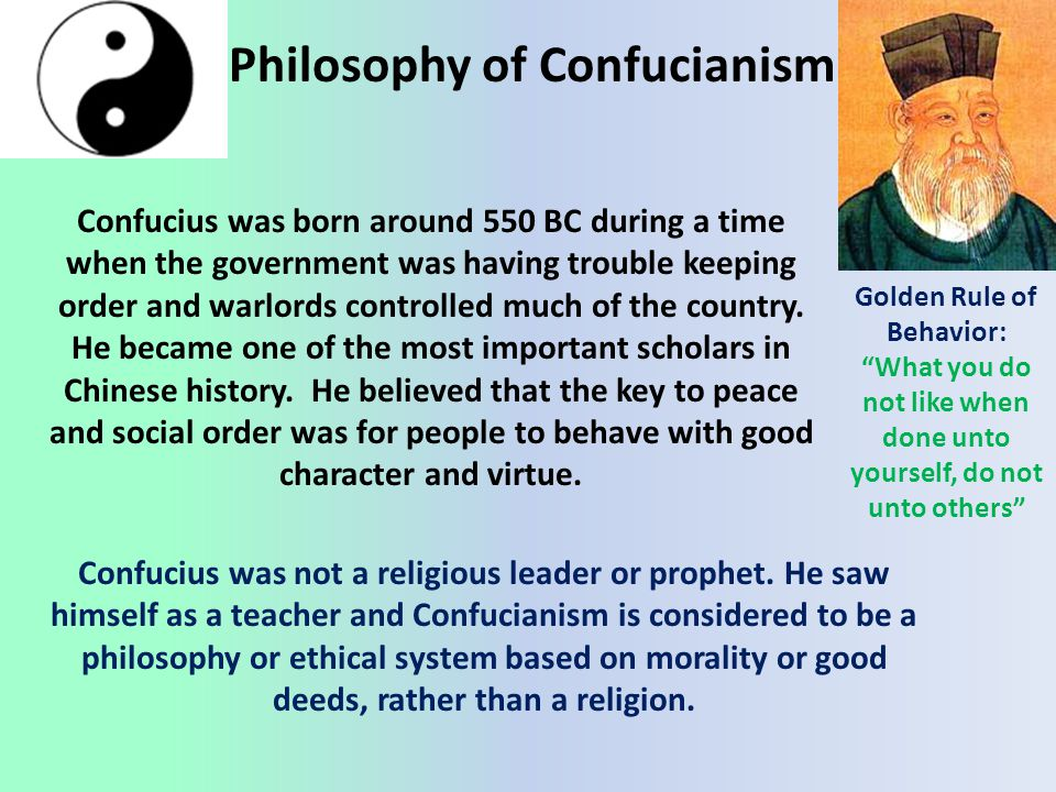 Philosophy of Confucianism