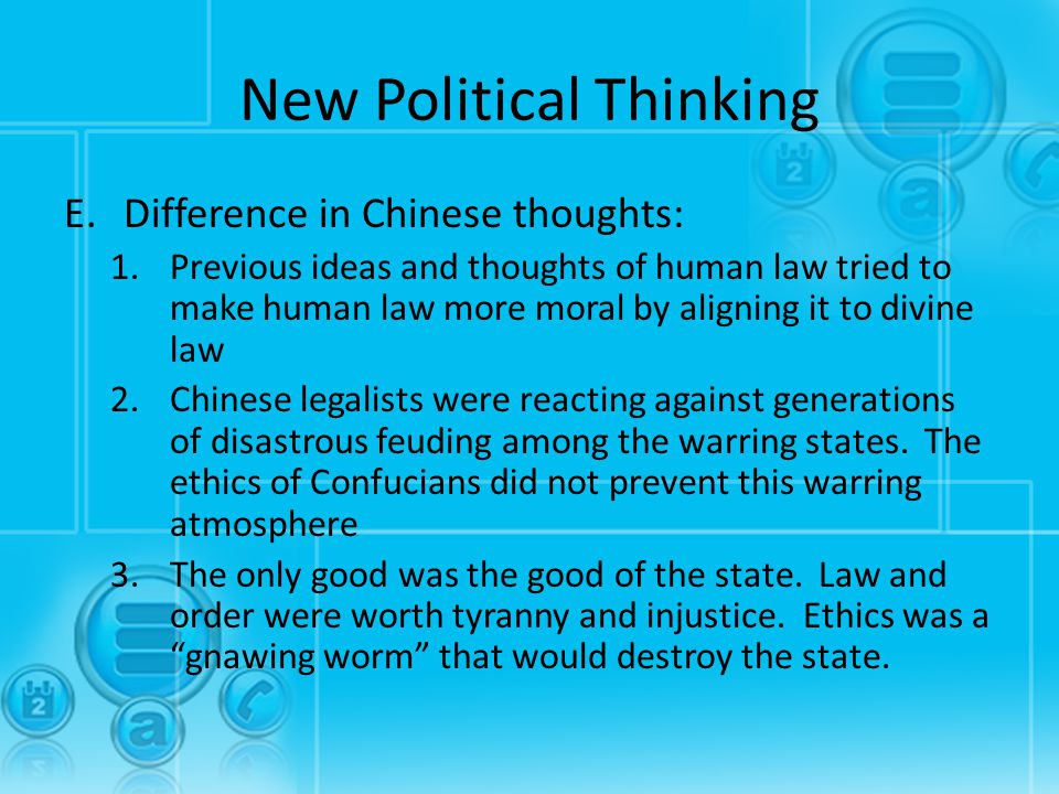 New Political Thinking