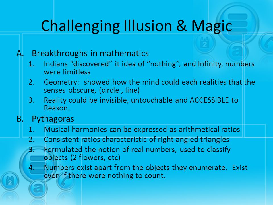Challenging Illusion & Magic