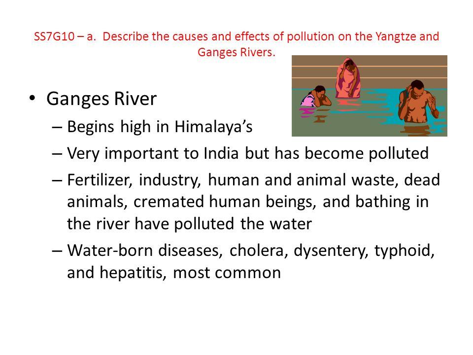 Ganges River Begins high in Himalaya's