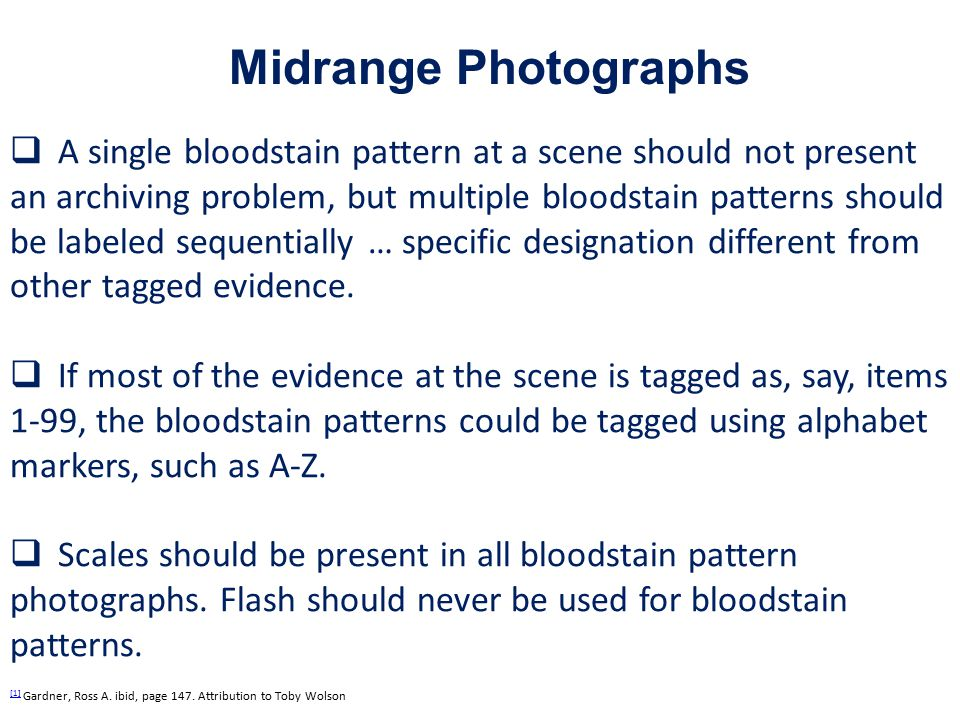 Midrange Photographs