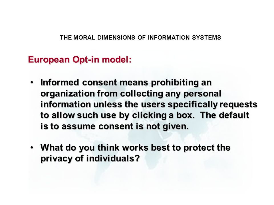 ethical and social issues in the digital firm This lecture was delivered by prof bhuvanesh agarwal at indian institute of management (iim) for sofware development and management of information systems course it.