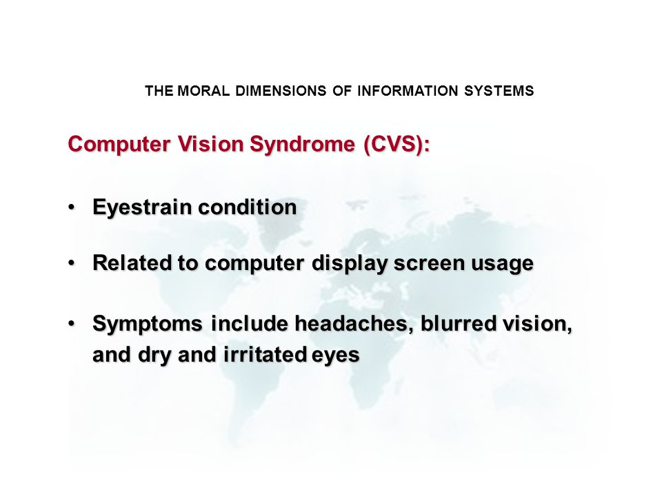 THE MORAL DIMENSIONS OF INFORMATION SYSTEMS