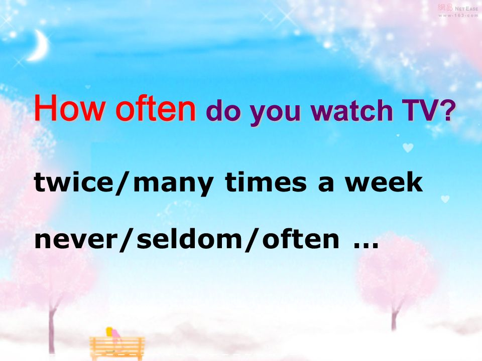 How often do you watch TV