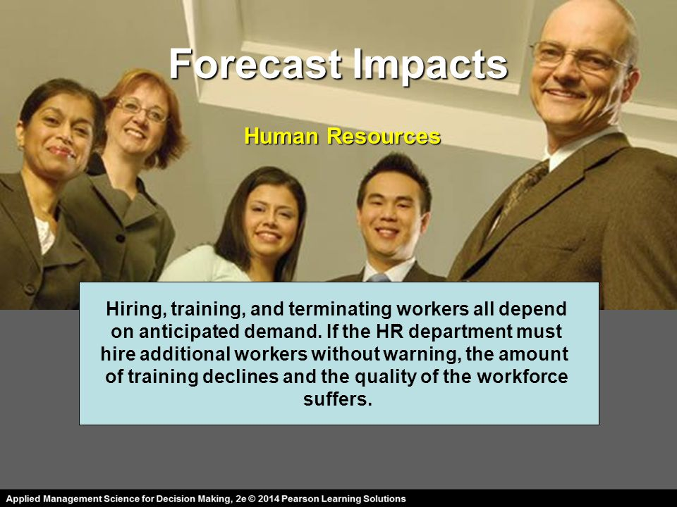 Forecast Impacts Human Resources