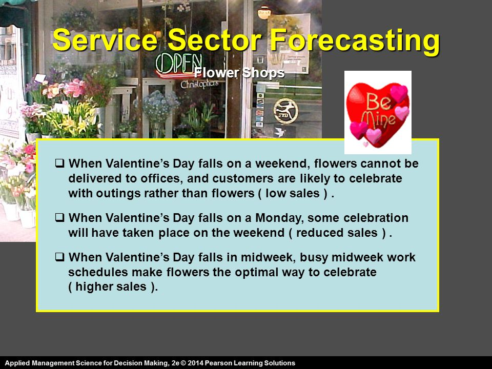 Service Sector Forecasting
