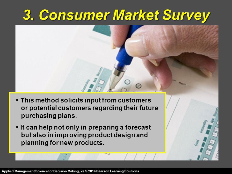 3. Consumer Market Survey