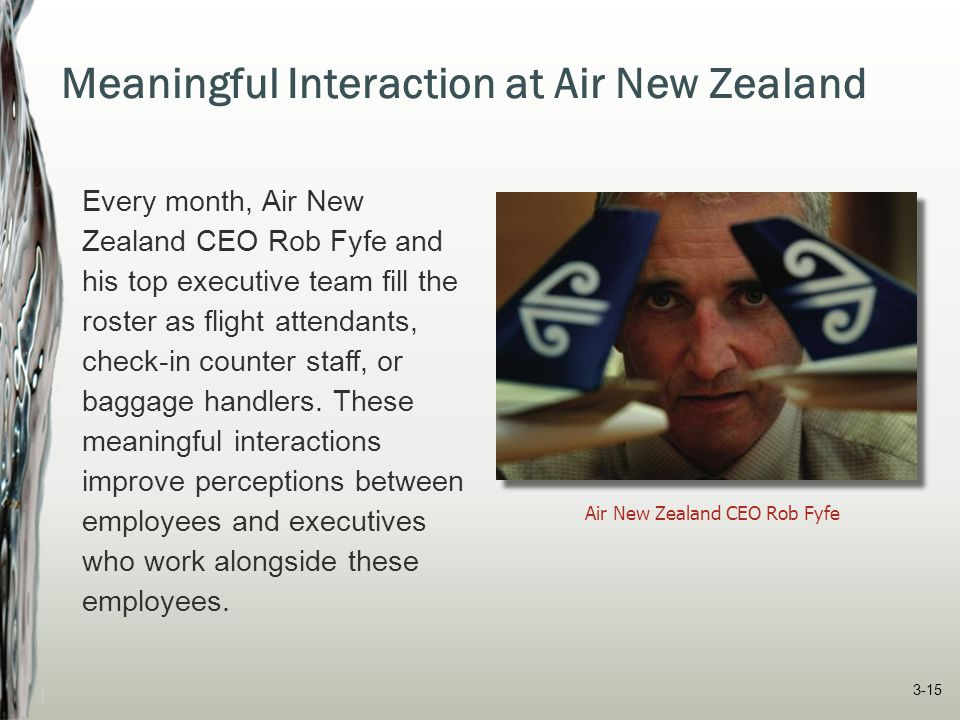 Meaningful Interaction at Air New Zealand