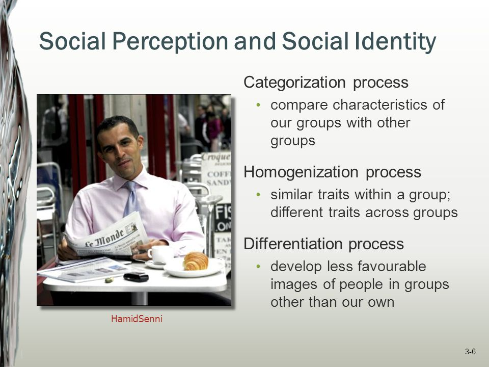 Social Perception and Social Identity