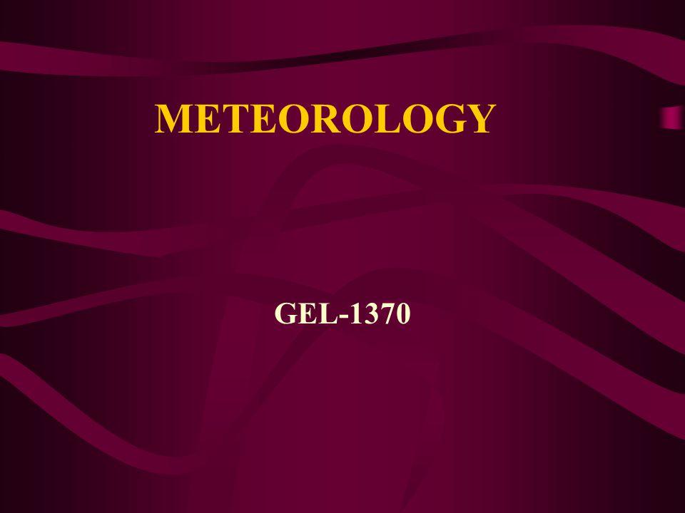 METEOROLOGY GEL-1370