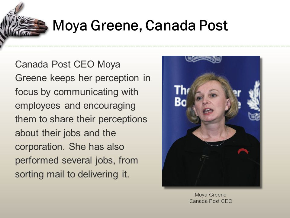 Moya Greene, Canada Post
