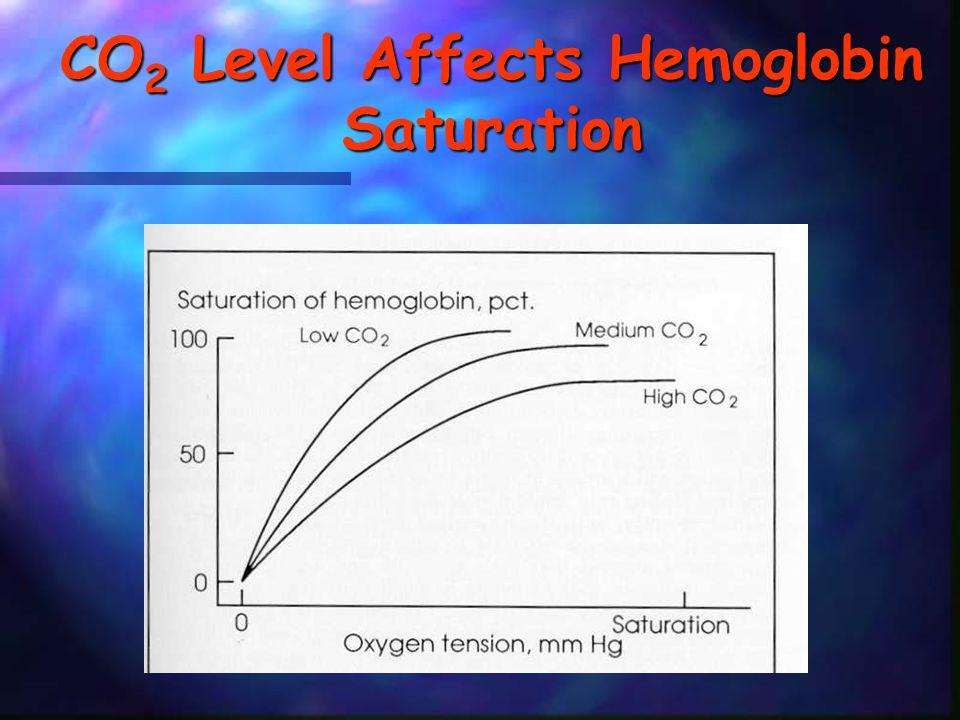 CO2 Level Affects Hemoglobin Saturation