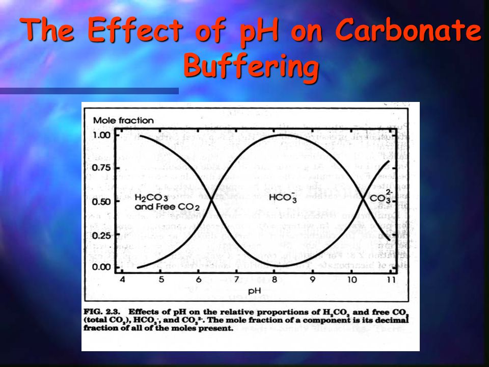 The Effect of pH on Carbonate Buffering