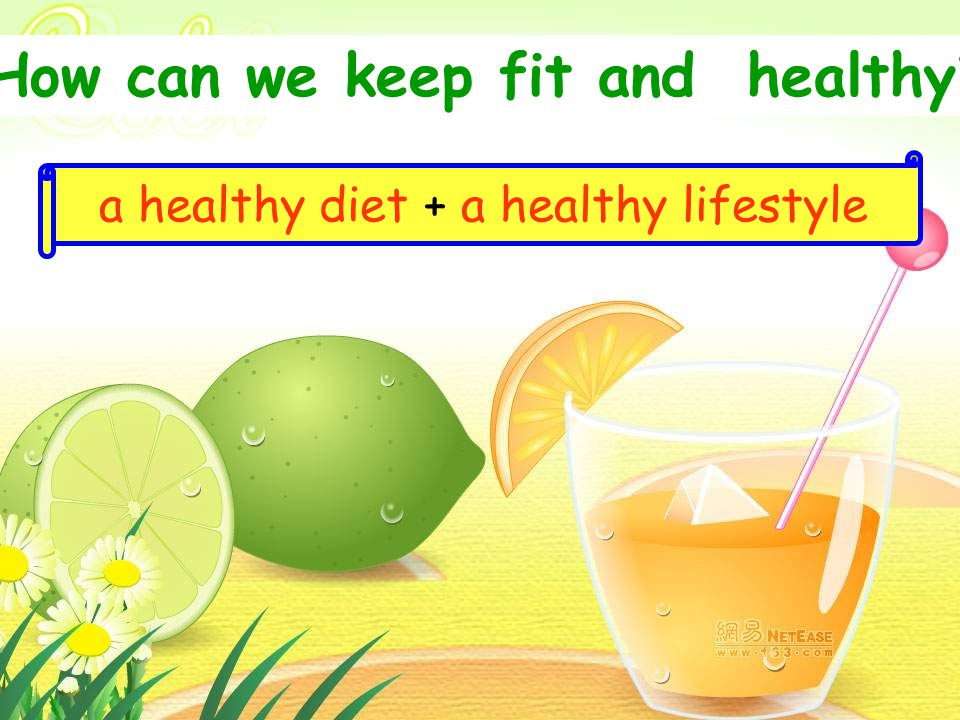 How can we keep fit and healthy