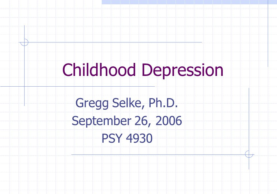 Gregg Selke, Ph.D. September 26, 2006 PSY 4930