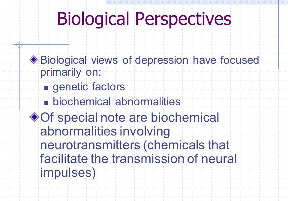 Biological Perspectives