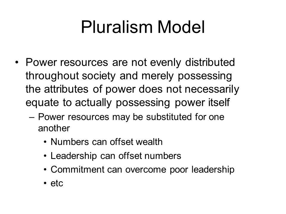 Pluralism Model