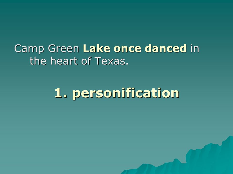 Camp Green Lake once danced in the heart of Texas.