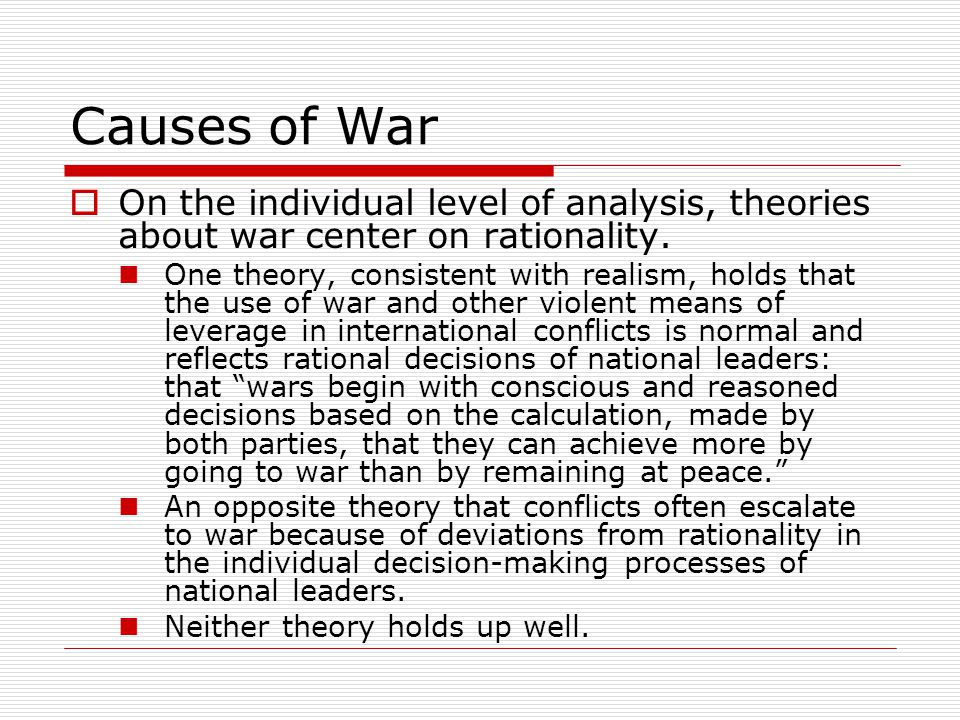 an analysis of the theory of deterrence based on realism A review and analysis of deterrence theory in the is security literature: making sense of  (1976) proposed a general theory of criminal deterrence based on.