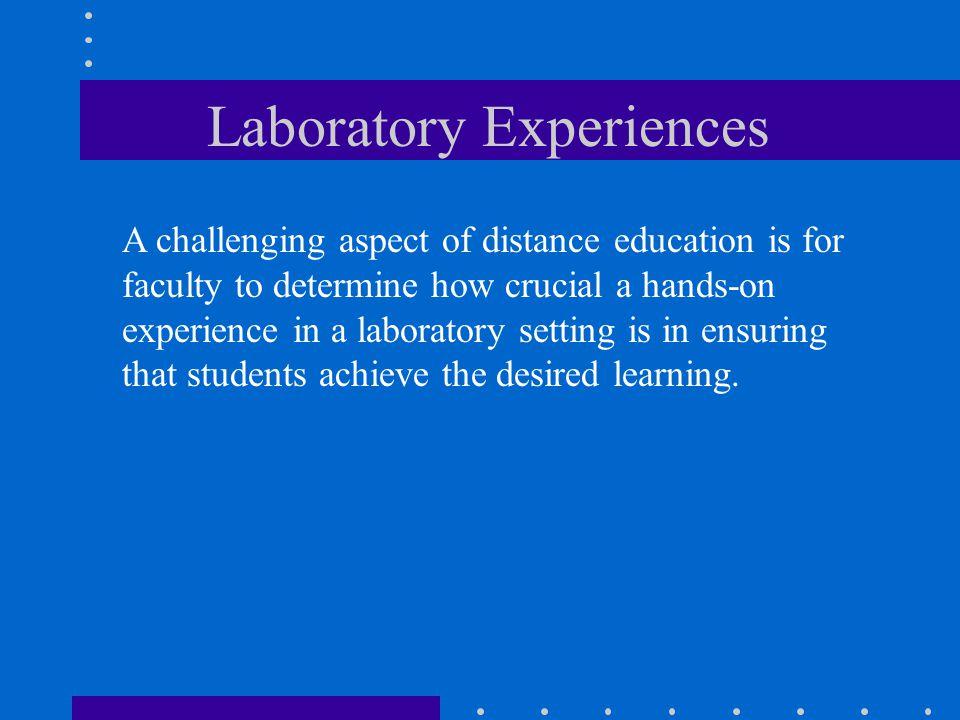 Laboratory Experiences